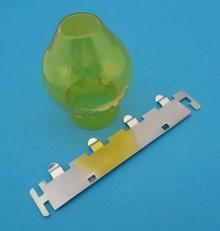 H4 lamp filter geel
