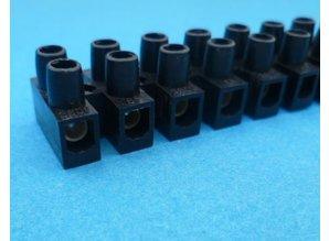 kroonsteenstrip 4,0 mm2 zwart