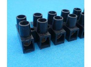 kroonsteenstrip 6,0 mm2 zwart