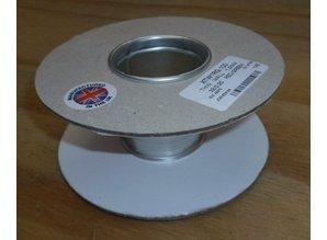 Lege haspel 139/53 mm (Nr0) karton/metalen kern