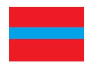 Draad 3.0 mm2 rood/blauw