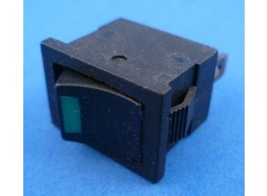 E703 aan/uit met LED Groen