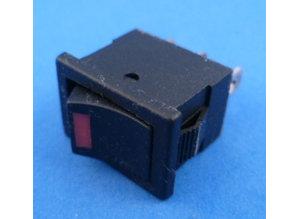 E704 aan/uit met LED Rood