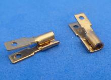 2.8*0.5 mm  'verdubbel' stekker