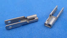 2.8*0.8 mm  'verdubbel' stekker