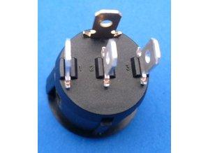 schakelaar met 'beacon light' symbool 12-24V