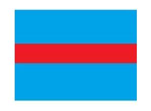 Draad 1.5 mm2 blauw/rood