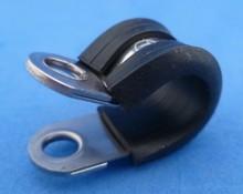 Leidingklem RVS  10 mm