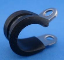 Leidingklem RVS  13 mm