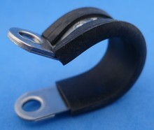 Leidingklem RVS  16 mm