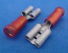 541NRED  6,3 x 0,8 mm schuifstekker
