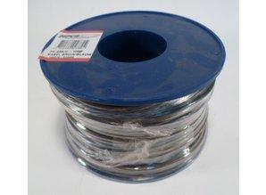 0.65 mm2 bruin/blauw 100 meter