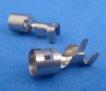 Glaszekeringkontakt 2-3 mm2 vernikkelt
