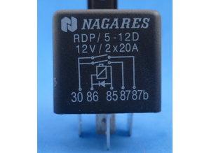 160934 Relais dubbel kontakt