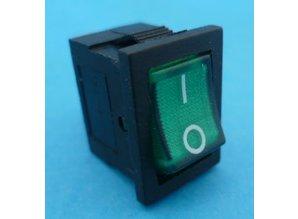 E423 aan/uit groen verlicht