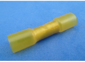 D4060003 krimpkous verbinder geel