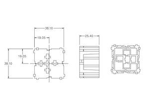 Modulair relaisblok mini