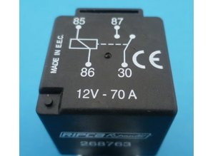 268763 relais 12V 70A High performance
