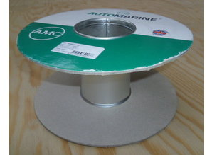 Lege haspel 220/100 mm (Nr7)  karton/metalen kern 10 stuks