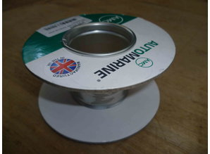 Lege haspel 120/51 mm (Nr6) karton/metalen kern