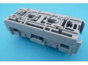 R01660 relaisvoet voor 2x maxi relais