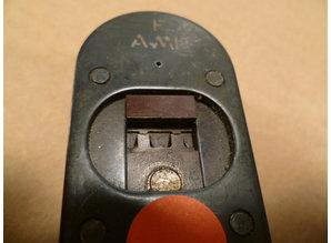 2 krimptangen AMP  gebruikt