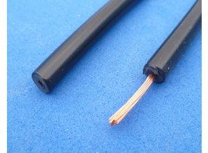bougiekabel 5 mm PVC zwart