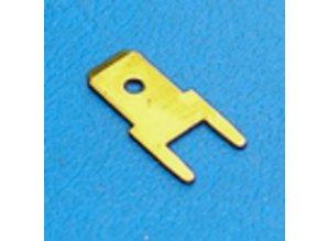 30-321Z printplaat terminal 6.3mm 10 stuks