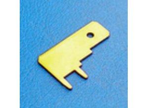 30-322Z printplaat terminal 6.3mm 10 stuks