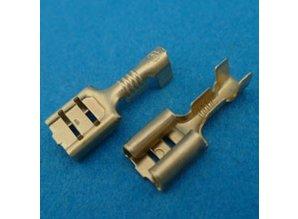 6.3*0.8 mm 30-292/1 voor 0.5-1.0 mm2
