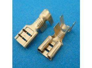 6.3*0.8 mm 30-292/3 voor draad 2.5 - 6.0 mm2