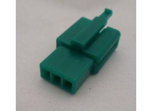 HCM3G 3 polig groen 10 stuks