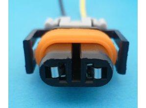 Lampstekker H8-H11-H27W/2