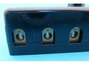 PFB06-S 6-voudig voor keramische zekeringen