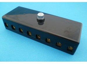 PFB08-S 8-voudig voor keramische zekeringen
