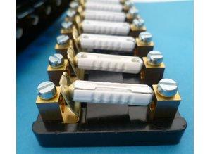 PFB12-S 12-voudig voor keramische zekeringen