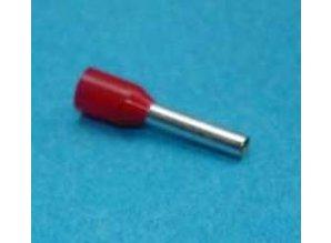 TE-1.00  1.00mm2 rood 100 stuks
