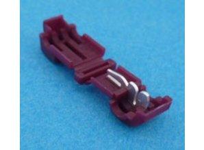 K951 stekker snijverbinder rood