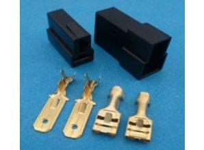 MC2TB connector 2 polig zwart