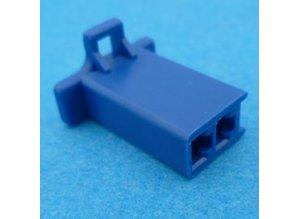 HCF2U  2 polig blauw 10 stuks