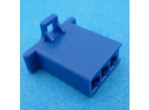 HCF3U 3 polig blauw 10 stuks