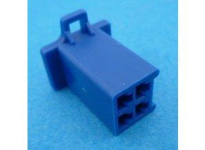 HCF4U 4 polig blauw 10 stuks