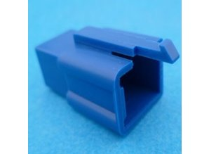 HCM6U 6 polig blauw 10 stuks