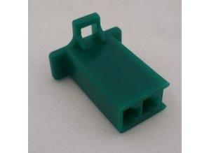 HCF2G 2 polig groen 10 stuks