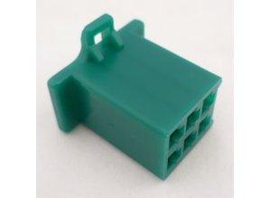 HCF6G 6 polig groen 10 stuks