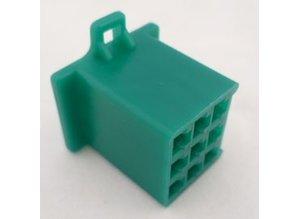 HCF9G 9 polig groen 10 stuks
