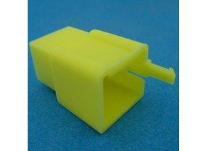HCM9Y 9 polig geel 10 stuks