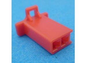 HCF2R 2 polig rood 10 stuks