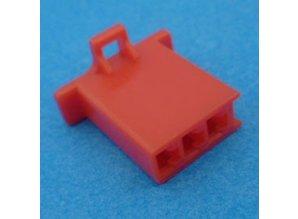 HCF3R 3 polig rood 10 stuks