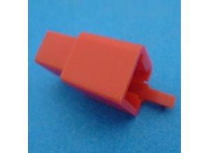 HCM4R 4 polig rood 10 stuks